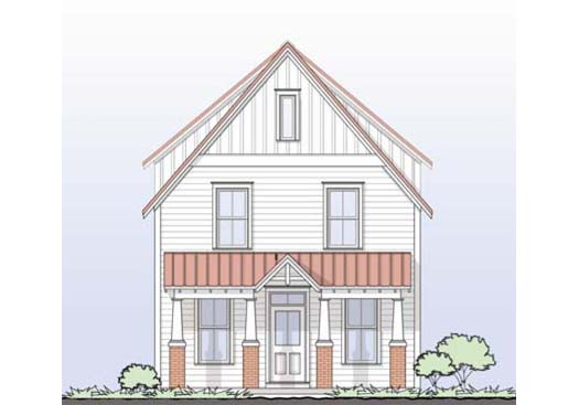 Tnd Neighborhood Gmf Architects House Plans Gmf