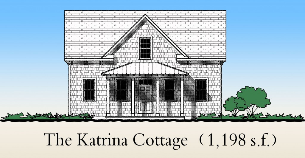 The Katrina Cottage Gmf Architects House Plans