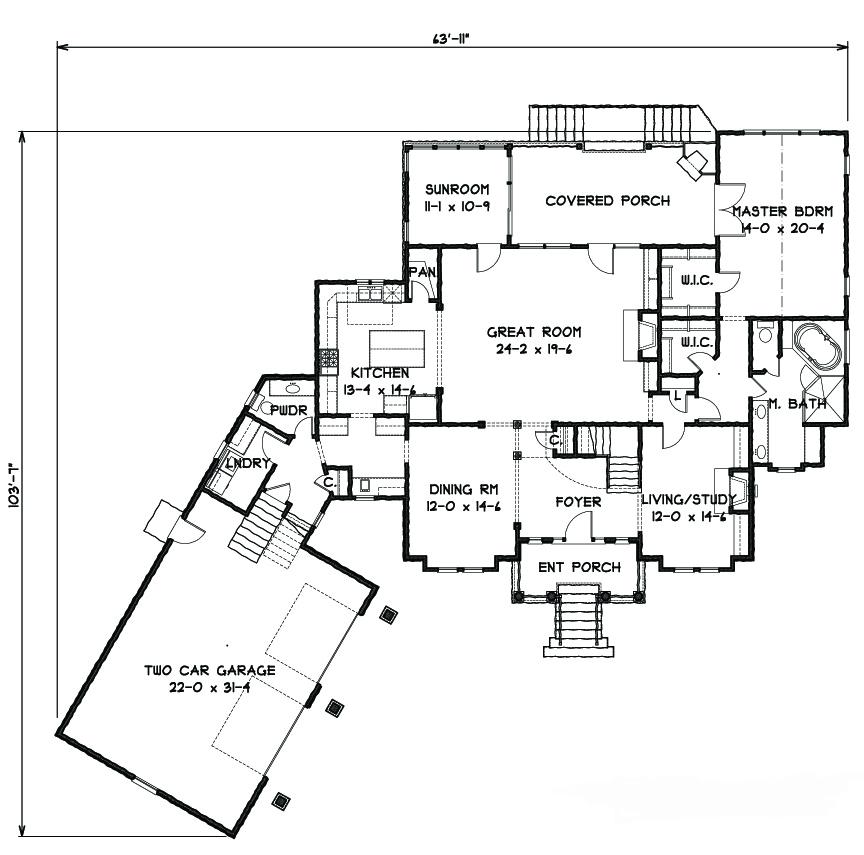 Palladian House Plans Home Design