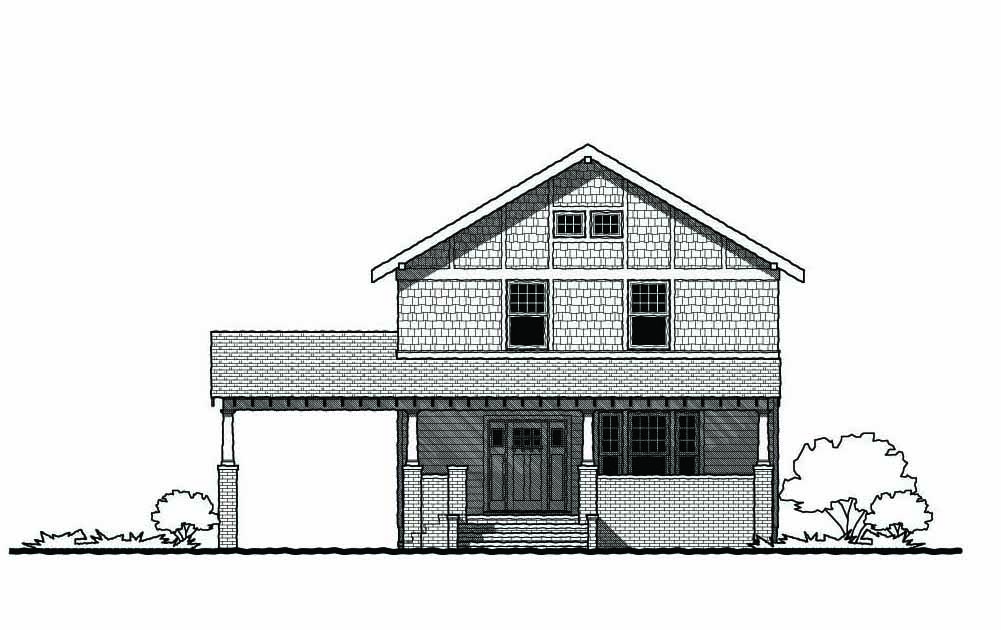The Magnolia Gmf Architects House Plans Gmf