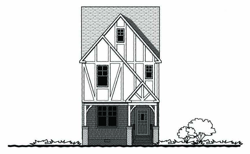 The Hilton Village Gmf Architects House Plans Gmf