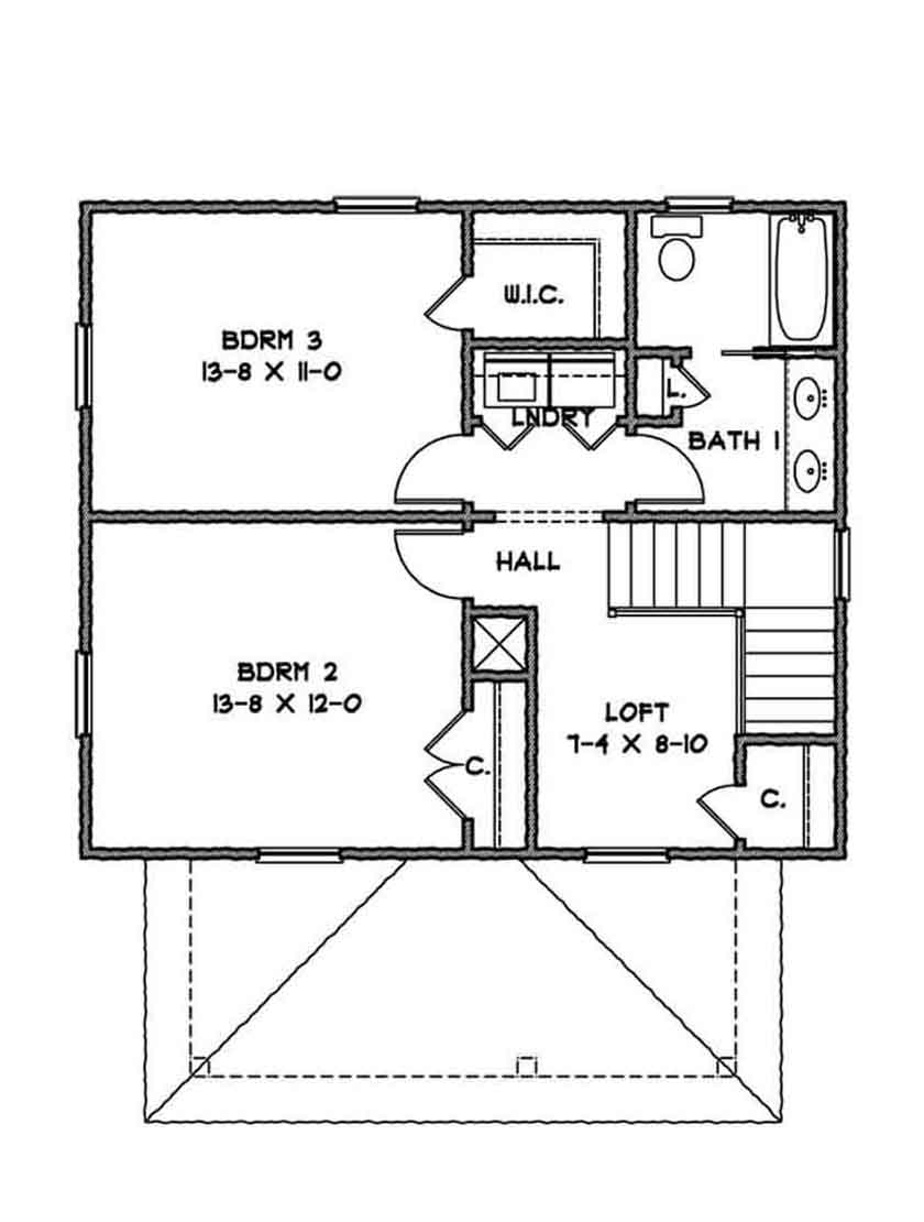 Floor Plans For Four Square Houses Idea Home And House