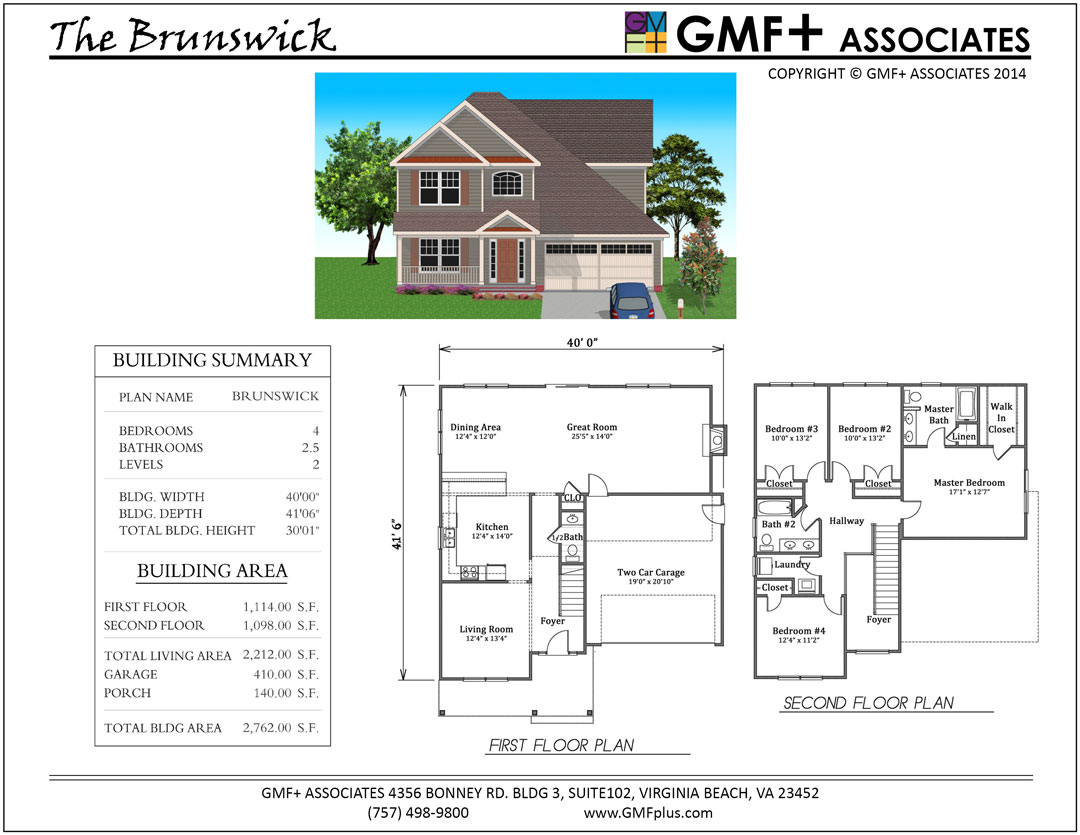 Brunswick Stock House Plan - Two Story Four Bedroom 2.5 Baths on narrow house layout, narrow art, narrow home, narrow house roof, narrow sink, narrow yard landscaping ideas, narrow modern house, narrow cabinets, narrow windows, narrow bedroom, narrow house interior design, narrow house elevations, narrow garden, small lake lot plans, narrow lot house, narrow kitchens, framing plans, narrow 3 story house, narrow doors, narrow beach house,