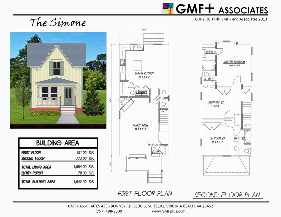 Narrow Lot 2 Storey House Plans – House Design Ideas