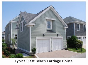 Typical East Beach Carriage House