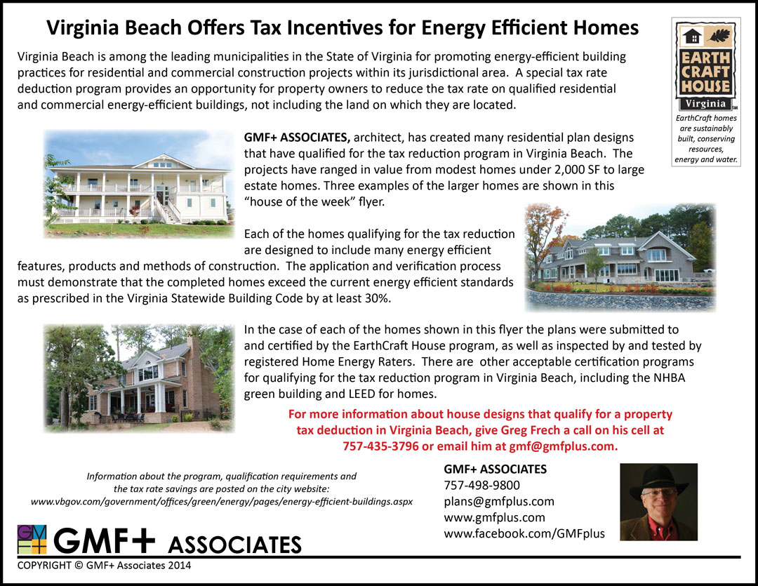 Virginia Beach Offers Tax Incentives For Energy Efficient Homes ...