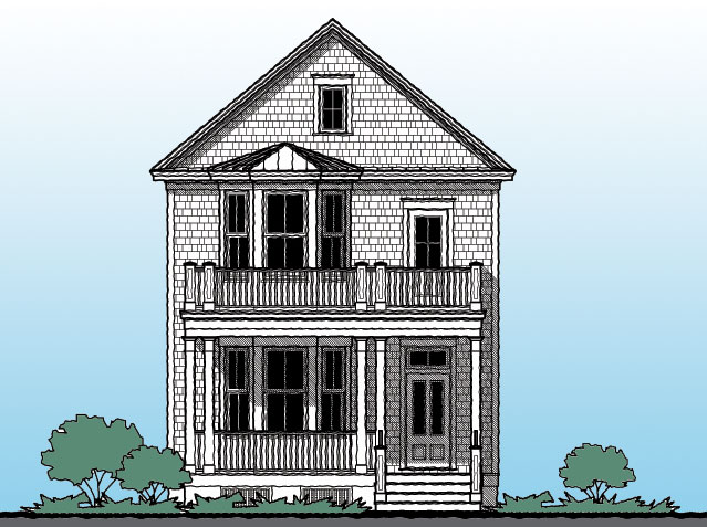 The Rosemary Beach GMF Architects House Plans GMF Architects