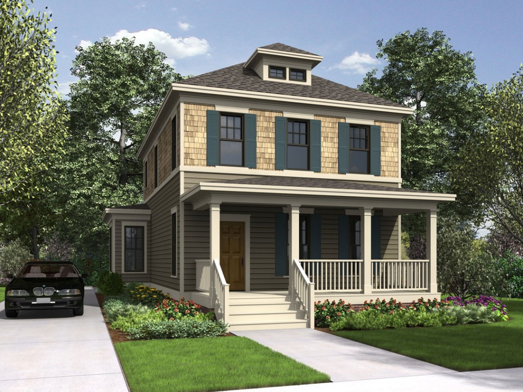 Coastal living house plans for narrow lots ideas photo for Coastal living plans