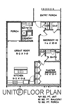 Sunshine Villlas_Unit Floor Plan