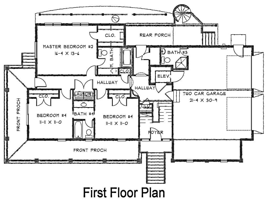 100 Accessory Dwelling Unit Plans Quadplex House