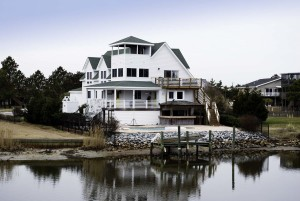 Custom Home on Waterway Property